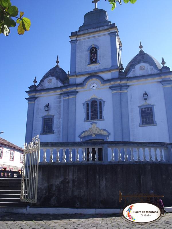 Igreja Matriz de Resende Costa.